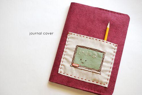 Felt Journal Cover