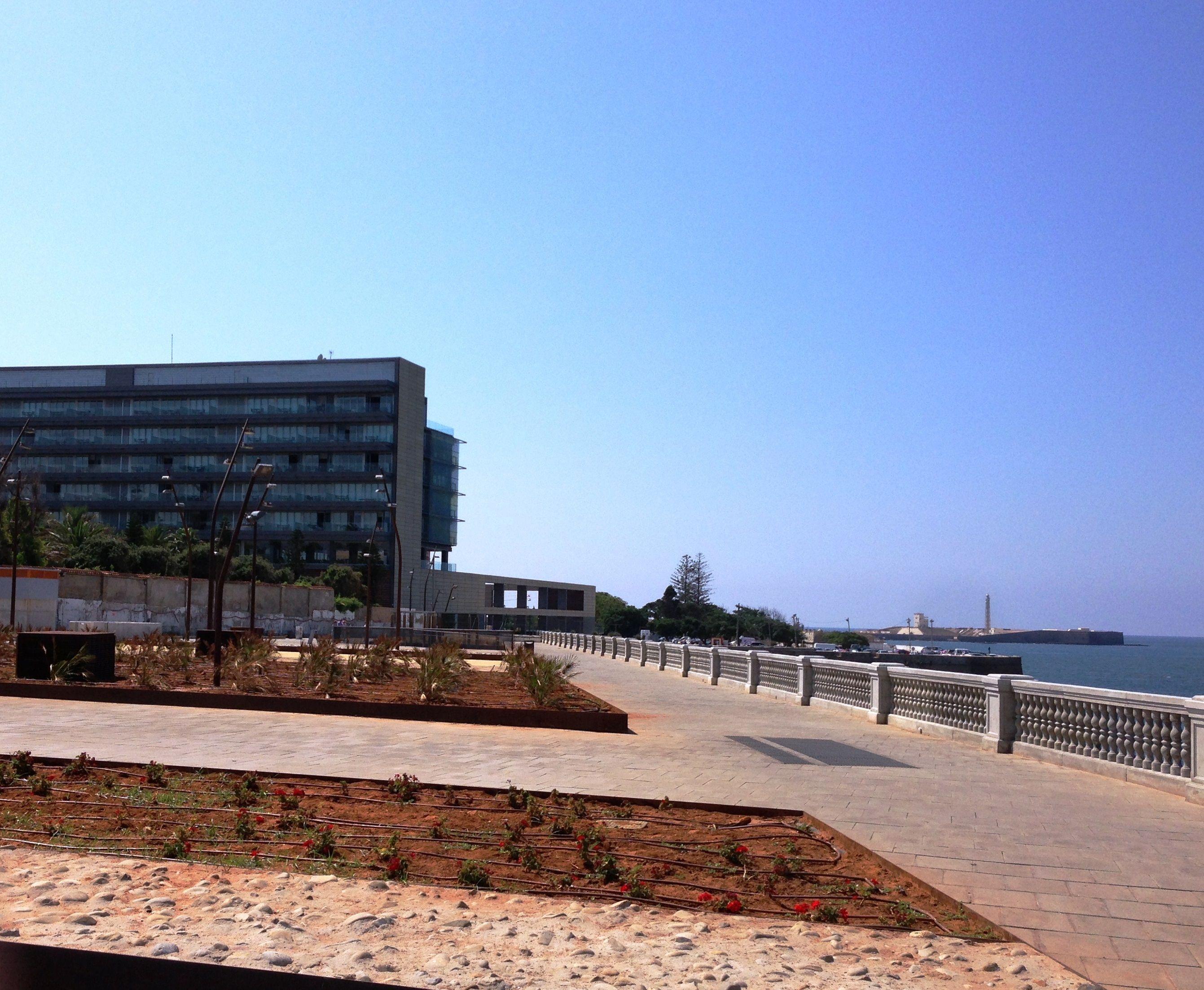 Parador Hotel Atlántico y castillo de San Sebastián, Cádiz