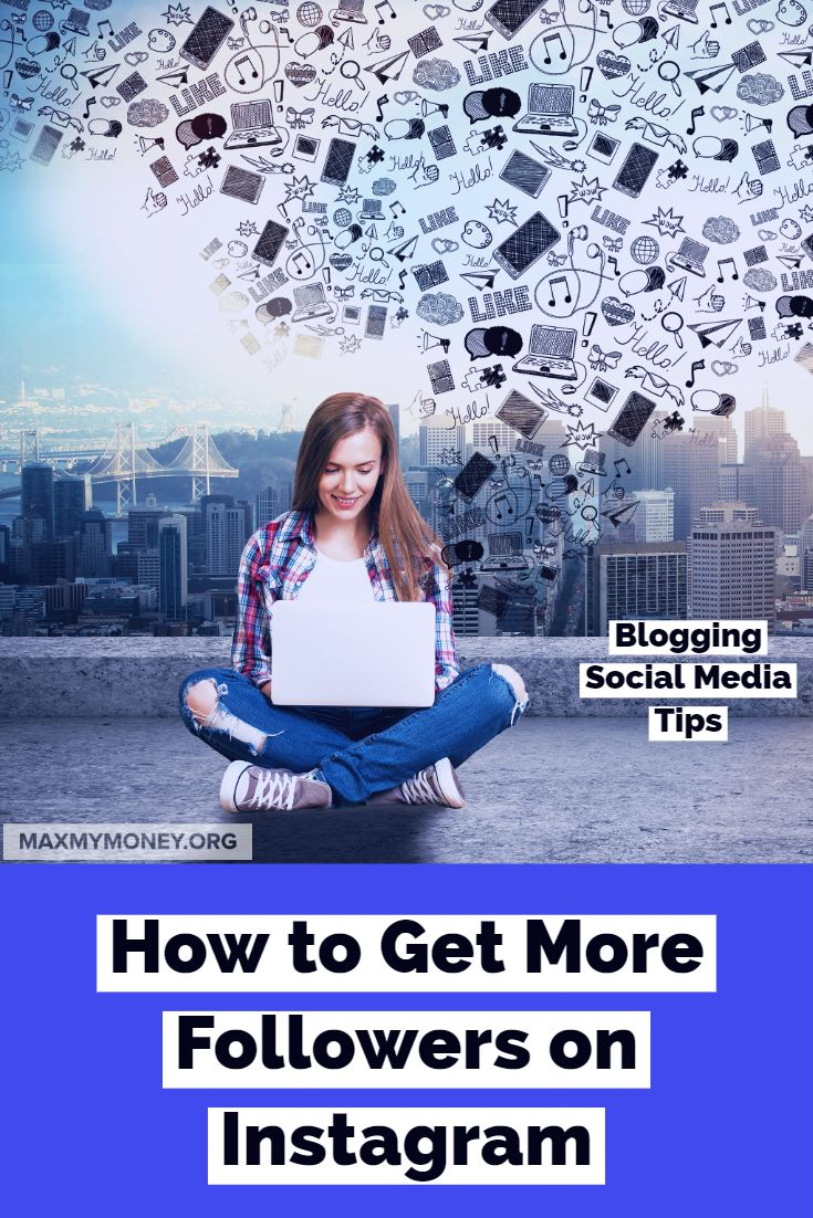 How to get more followers on instagram social media