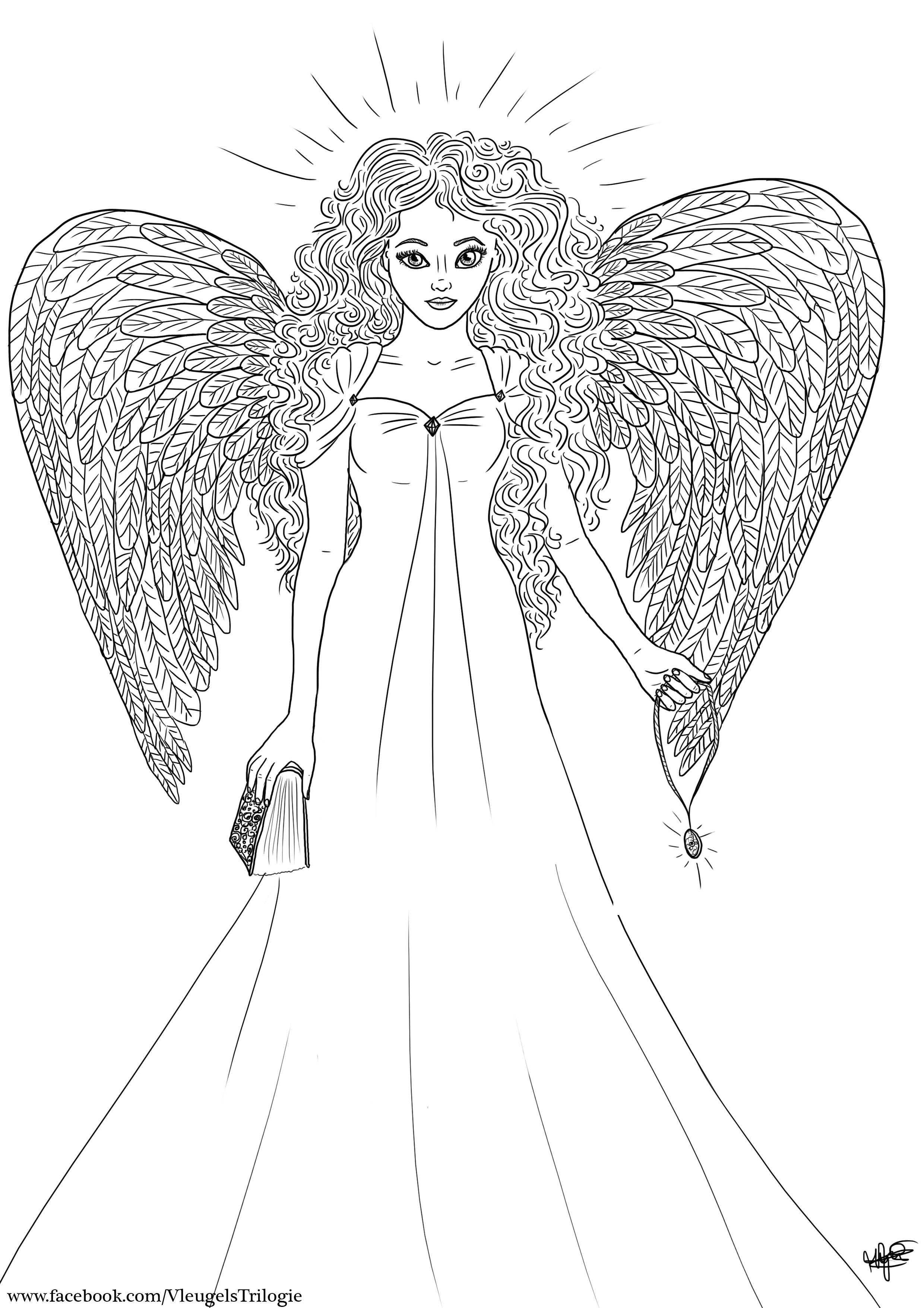 Kleurplaat Lucy Kleurplaten Vleugels
