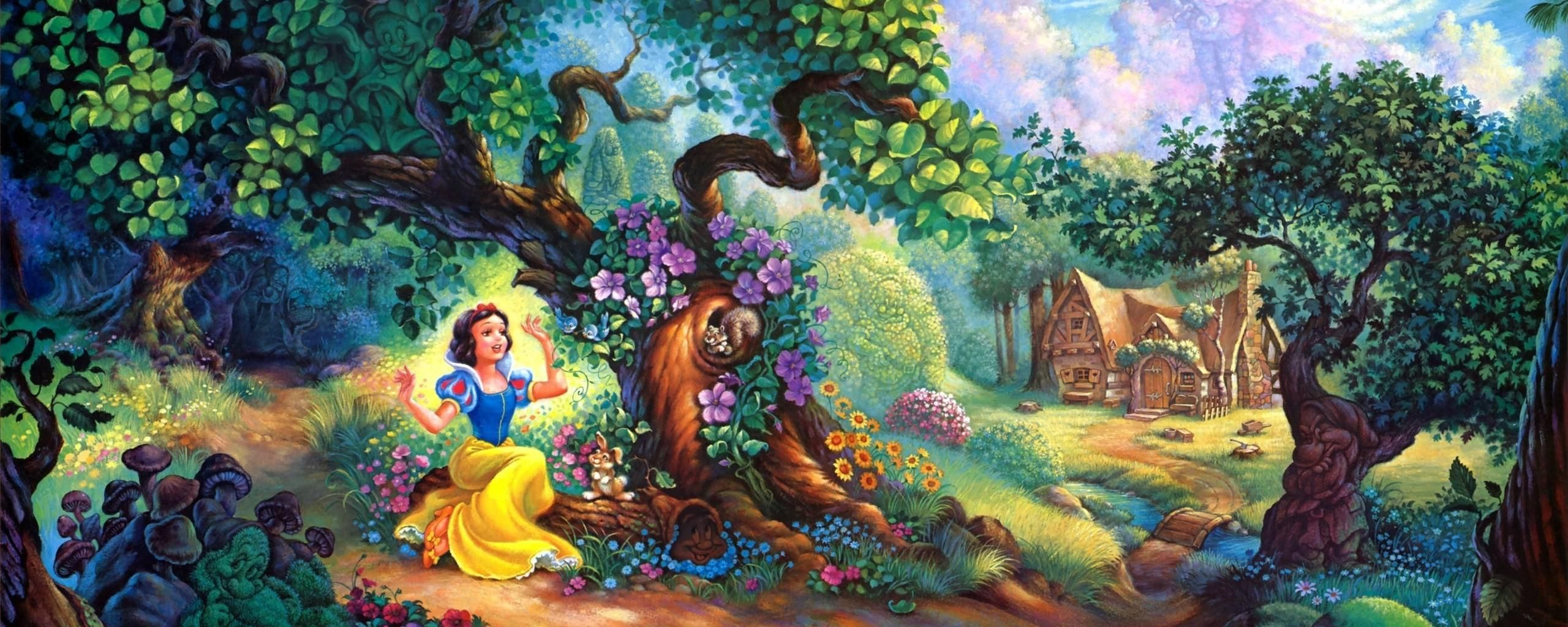 Forest Tom Dubois Painting Walt Disney Cartoon Wallpapers Hi