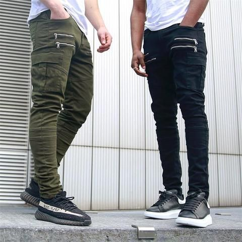 d93d92a2fdb 2018 Brand Men s fashion Military Cargo Pants Multi-pockets Baggy Men Pants  Casual Trousers Overalls Army Pants Joggers