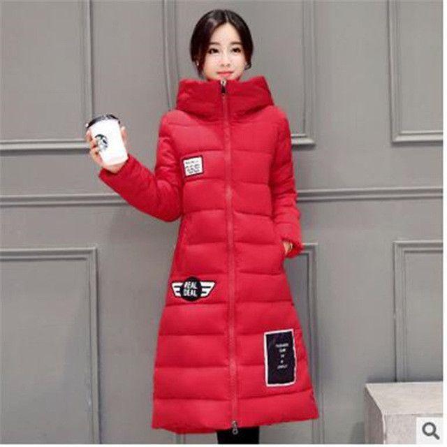 TNLNZHYN 2017Winter Women Coat Thicken Super Warm Hooded Jacket High  Quality Big yards Down Cotton Coat Elegant Slim Women Coats f187217f2
