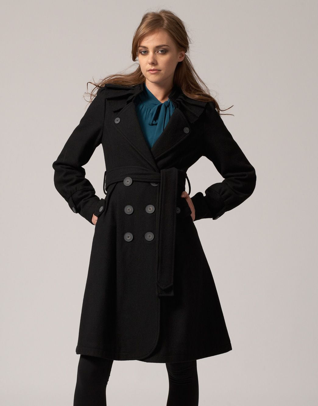 Collection Ladies Long All Weather Coats Pictures - Reikian