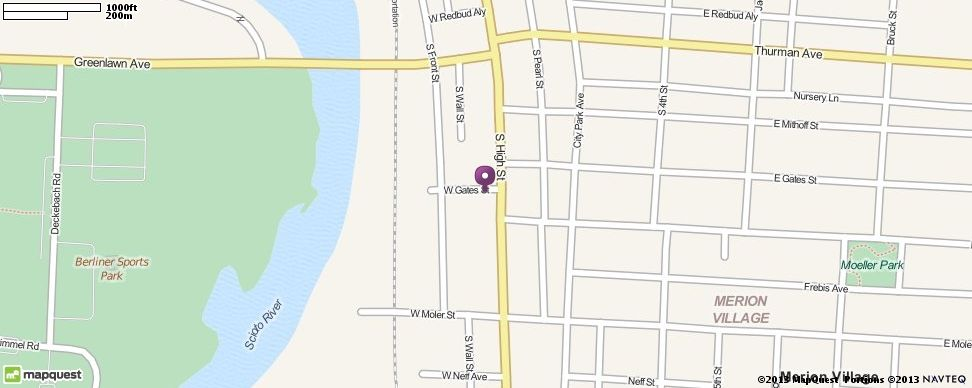 1215 S High St Columbus Oh 43206 Directions Location And Map