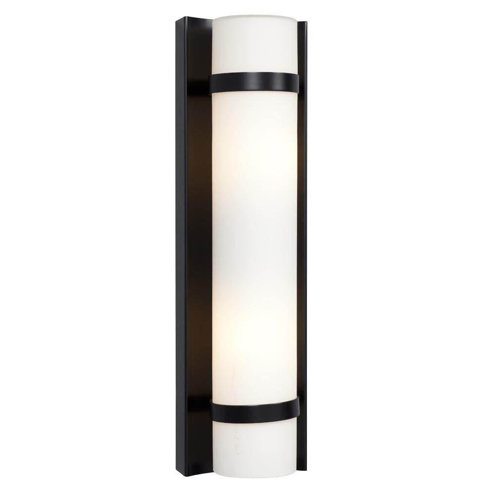 Filament Design Negron 2 Light Black Incandescent Sconce Cli