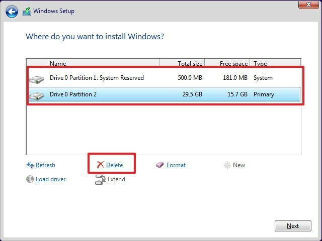 Fixed Cannot Delete The Active System Partition On This Disk