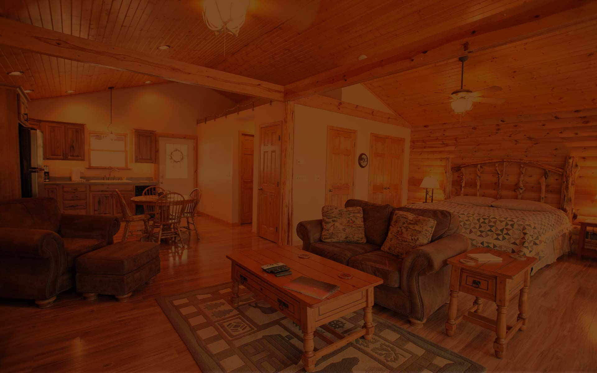 Cabin Rental In Southern Illinois   Woodland Cabins