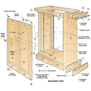Woodworking closet plans, free closet plans woodworking plans and ...