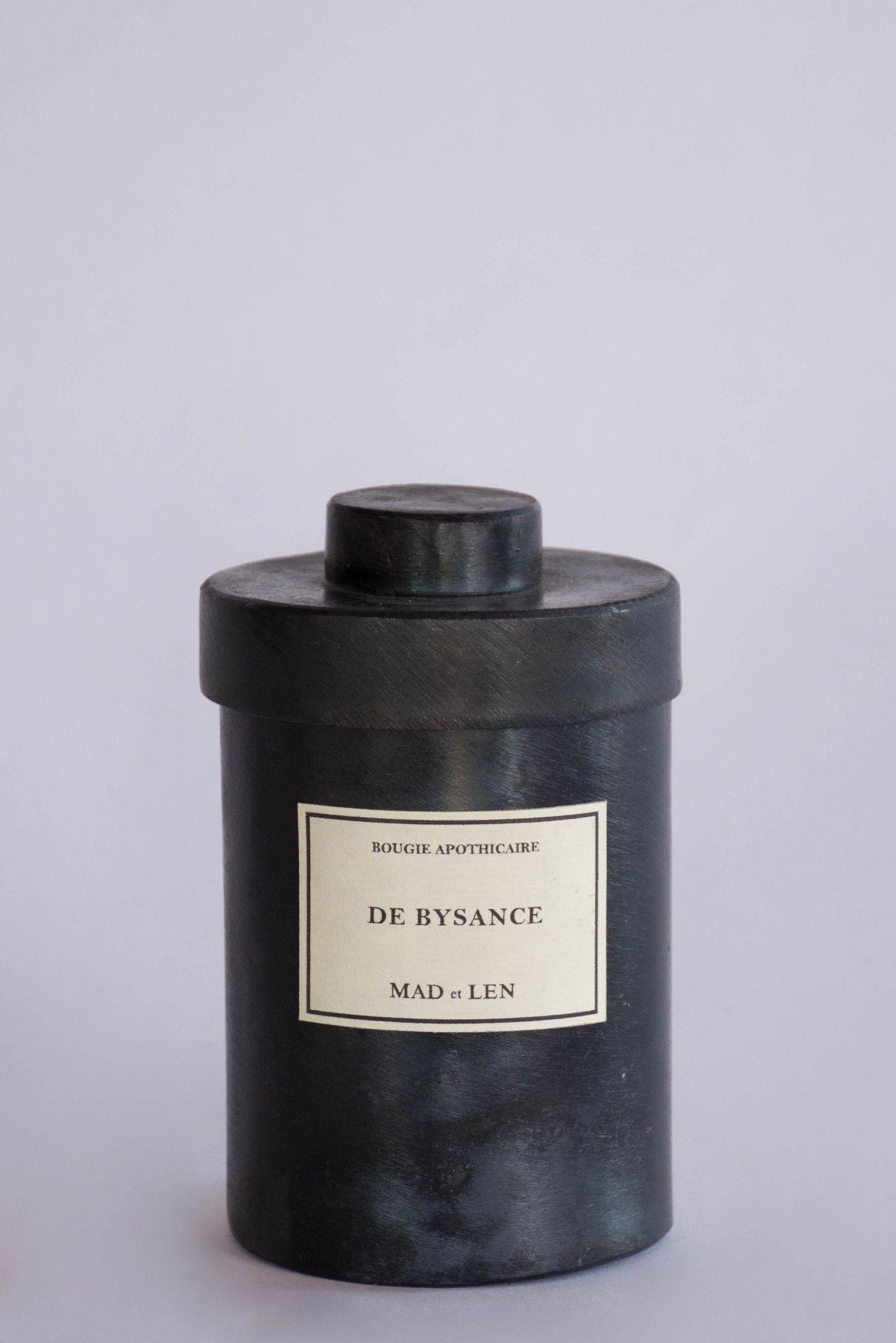Mad et Len Candle in De Bysance