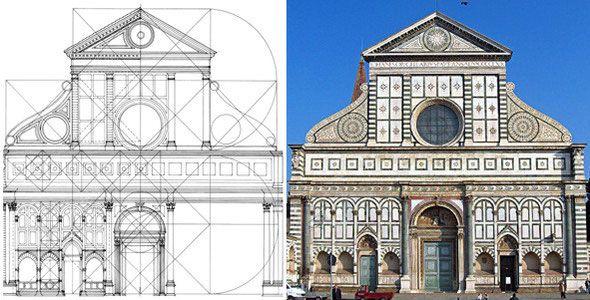 Fachada de santa maria novella alberti el renacimiento Arquitectura quattrocento caracteristicas