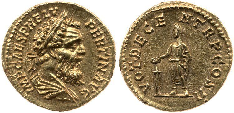The Roman emperor Pertinax was killed #onthisday in AD 193, only 87 days into his reign http://ow.ly/KPsm7