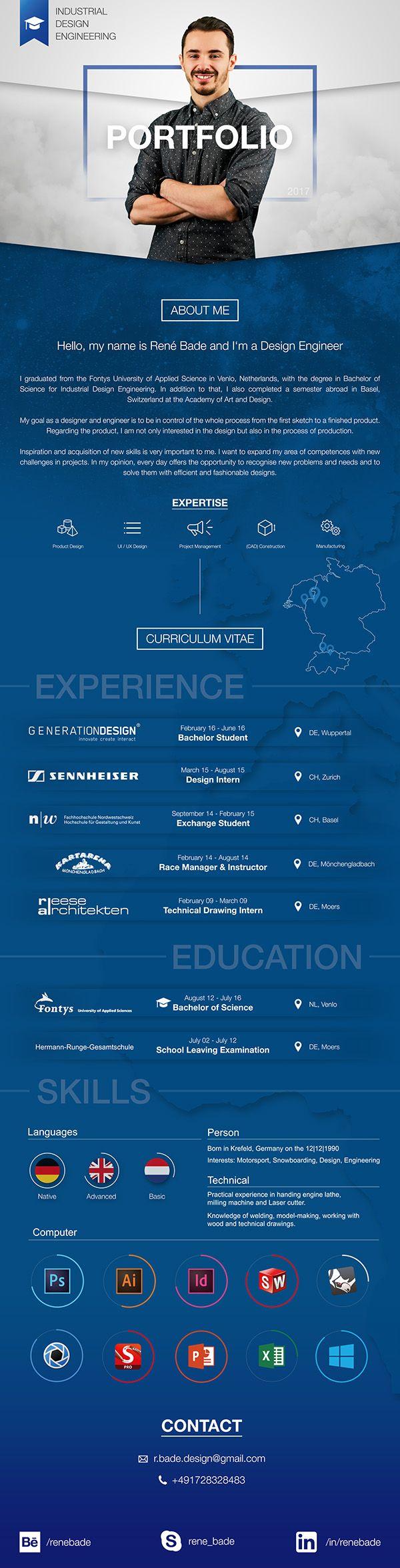 Portfolio Industrial Design Engineering Curriculum Vitae | My ...