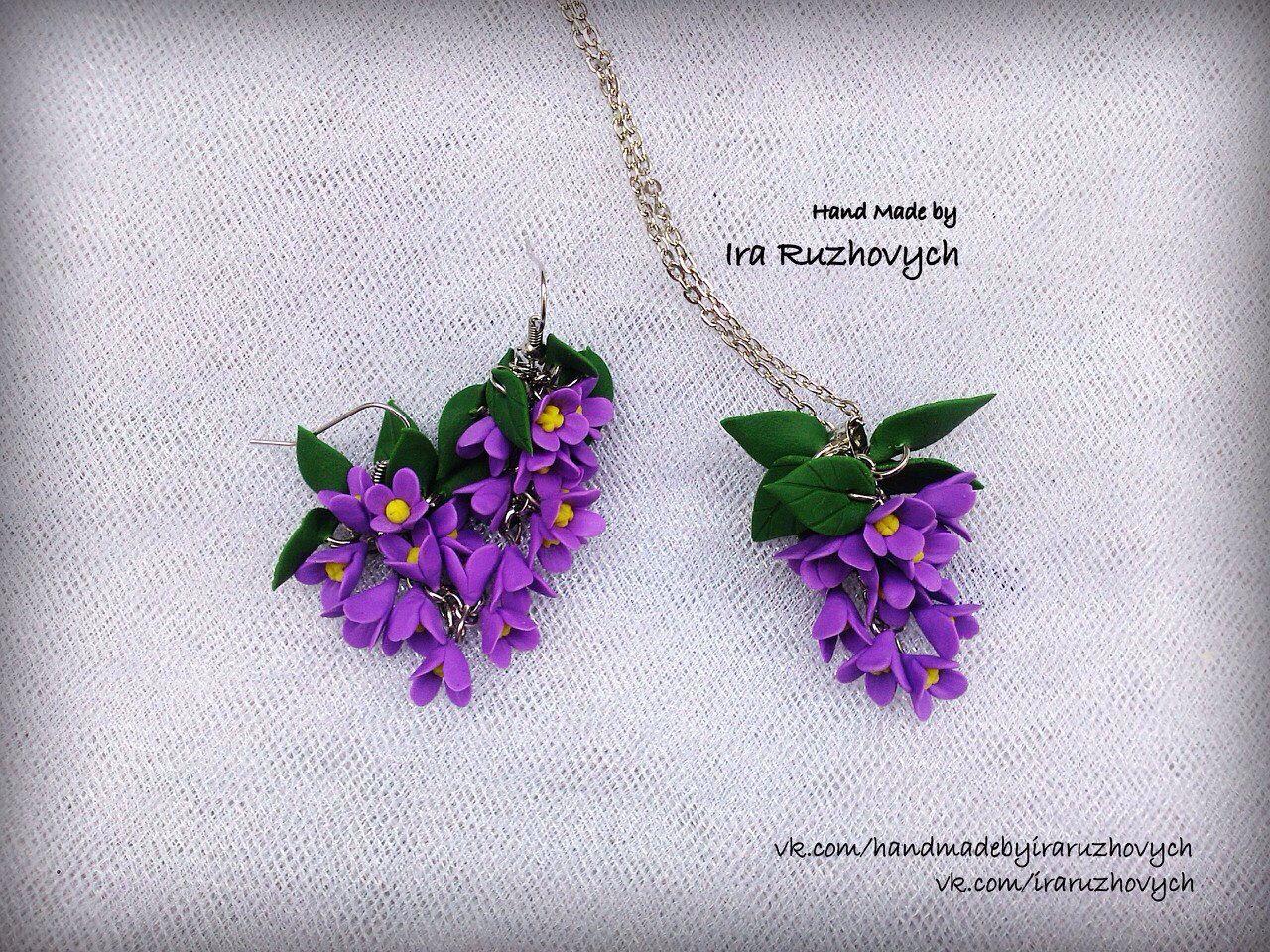 Blumenzweig als Anhänger