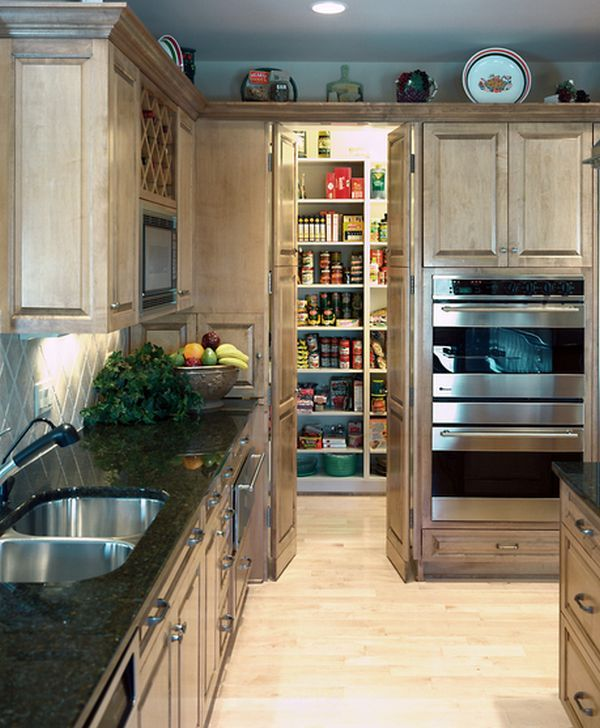 Cool Calm And Functional Kitchen: 15 Kitchen Pantry Ideas With Form And Function