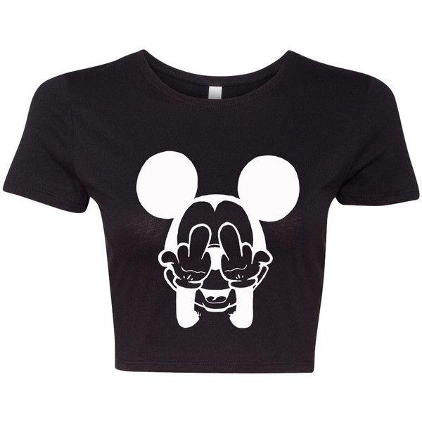 2b433e4f702 Mickey Mouse shirt Funny Mickey crop top t shirt crop top shirt tank ...