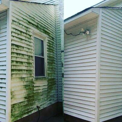 Mobile home power washing. S.bocks power washing. 586-932-8558 Macomb County Michigan