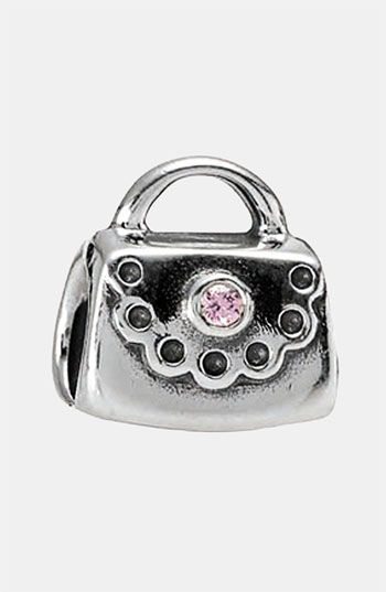 Free Shipping And Returns On Pandora Purse Charm At Nordstrom A Pretty Handbag Is Designed With Scalloped Flap That S Embellished