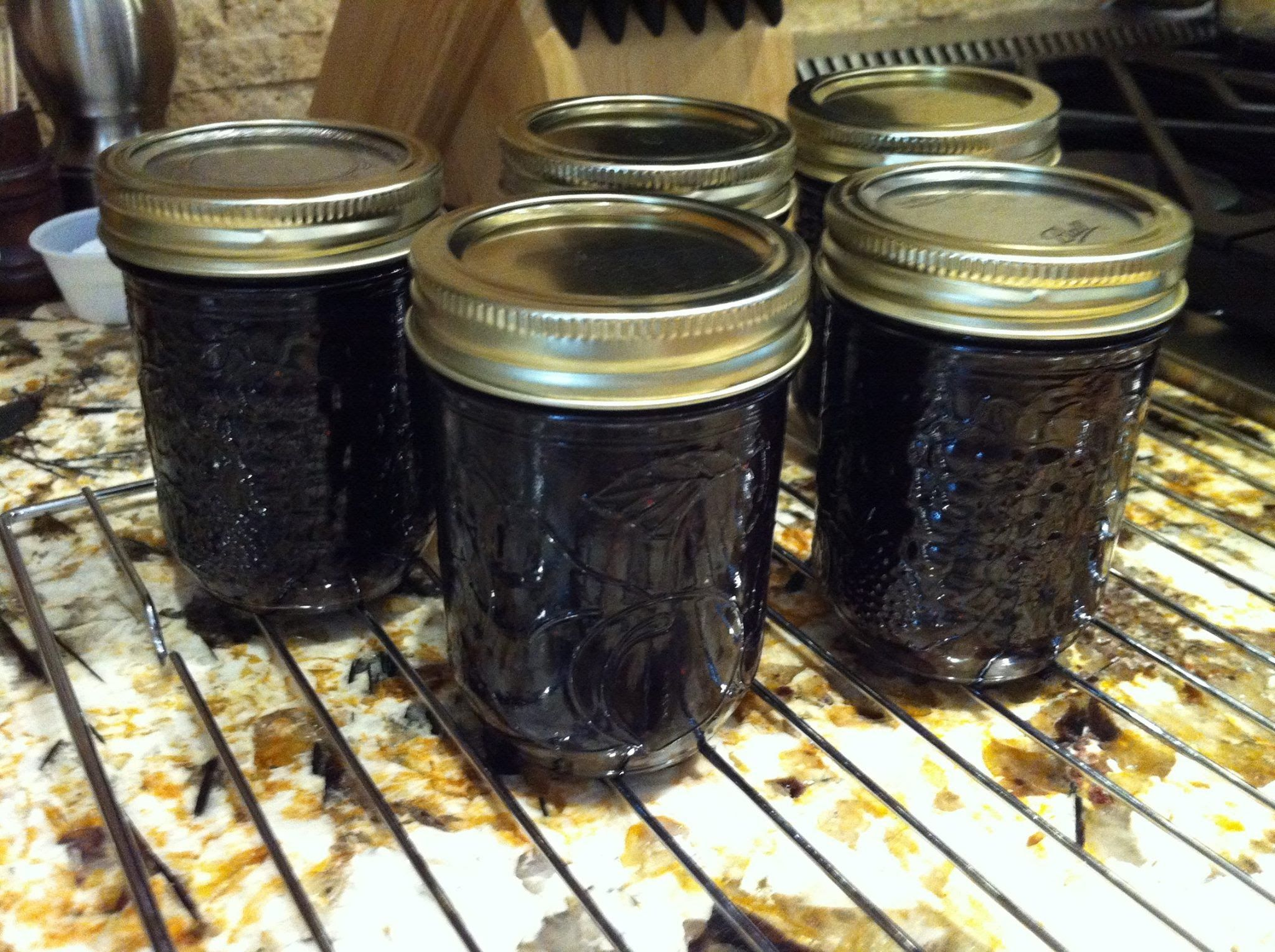 Canning blueberry syrup cheryls home cooking canned