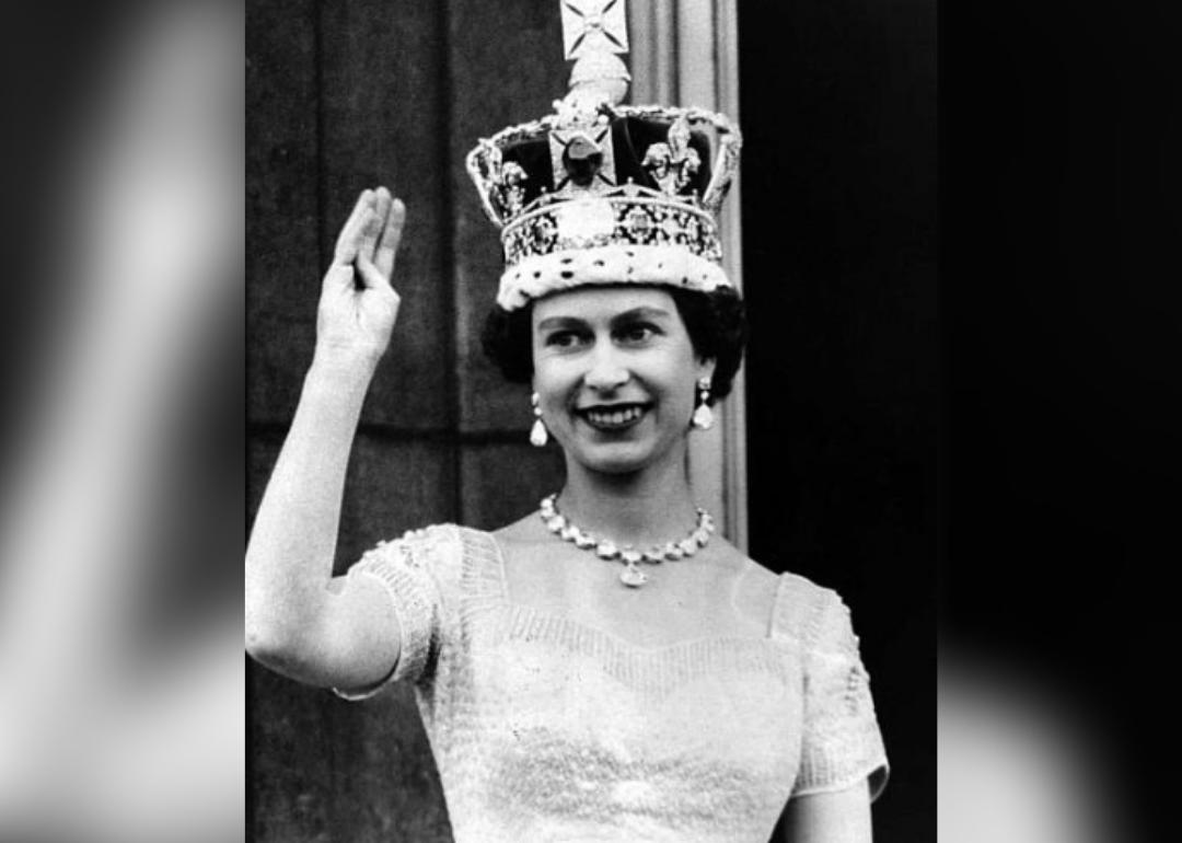 1953 Queen Elizabeth II is crownedOn Jun. 2, 1953