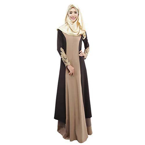 Hanomes 2019 Muslimische Kleider Damen Muslim Kleidung ...