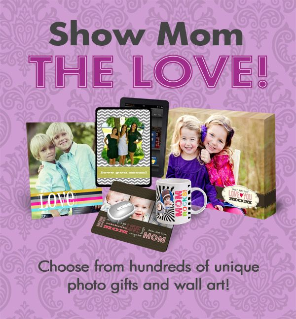 Let us help you choose the perfect photo gift for mom!