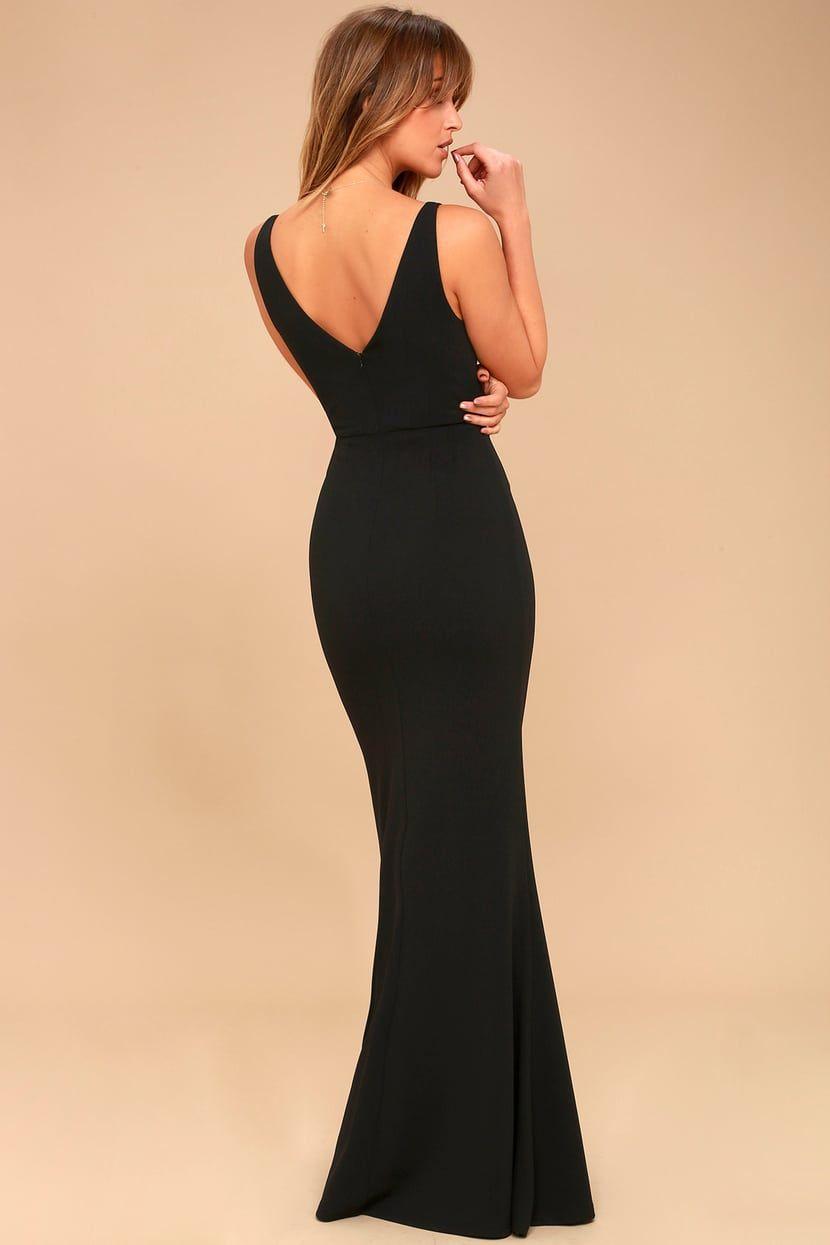 7a63e2e10c265 Melora Black Sleeveless Maxi Dress in 2019