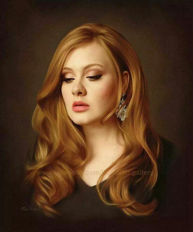 Beautiful Adele portrait | People I like | Art sketches ...