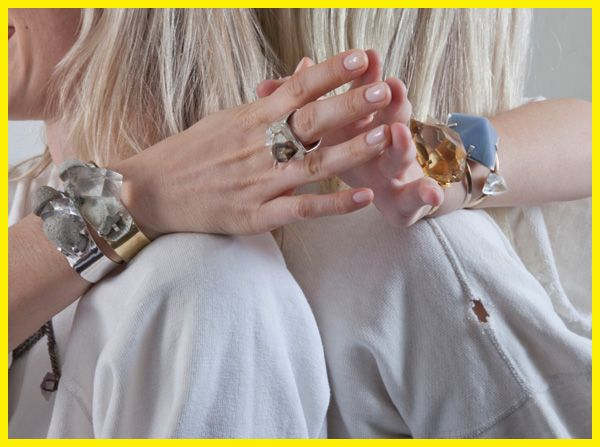 Lala Mamma: Uncover Unearthen jewelry - bracelets and ring