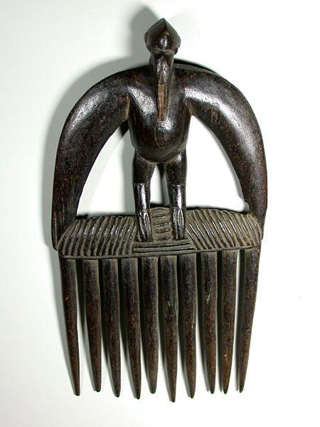 senufo comb, cote d'ivoire, 1980