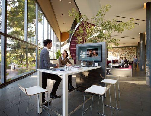 Modern Office Technology High Desk Business Office Design Office Space Design