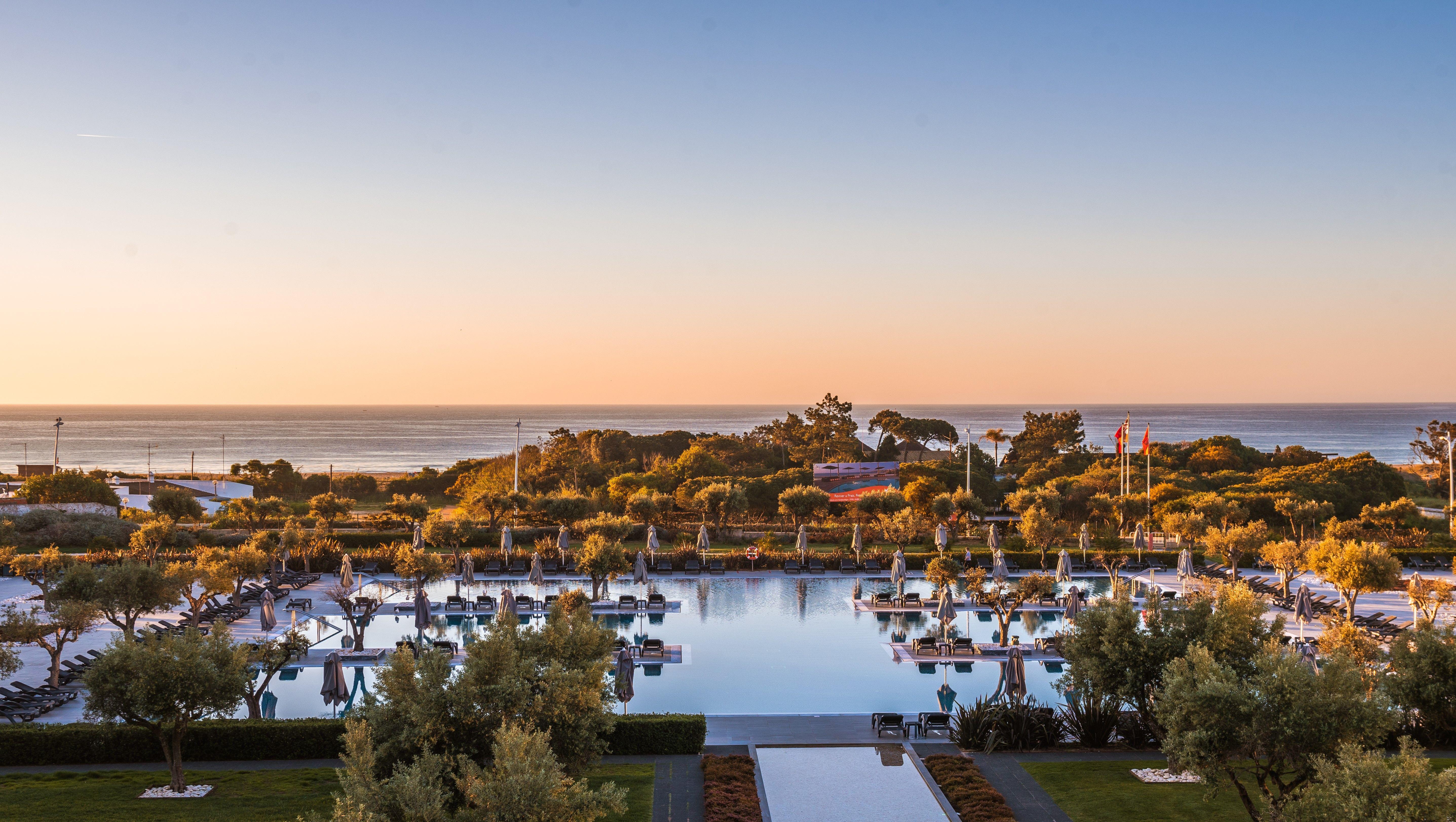 Sunset Hotel Vila Gale Lagos Algarve Portugal Hoteis Vilas