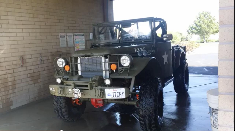 Dodge M37 | M37, POWER WAGON, KAISER etc | Trucks, Monster trucks