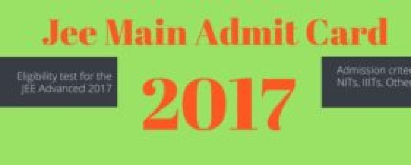 Check The All Details Of Jee Main 2017 Admit Card And For More Details Of Admit Card Can Visit At Http Www Entrancezone Com Engineerin Exam Exam Papers Maine