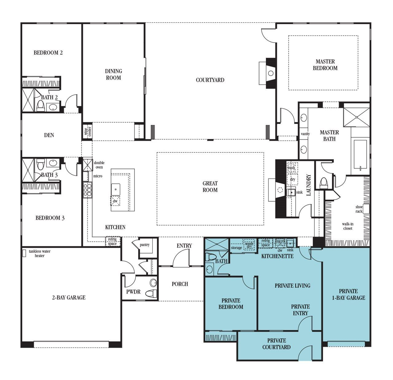 Next Generation Homes Floor Plans Multigenerational House Plans Multigenerational House New House Plans