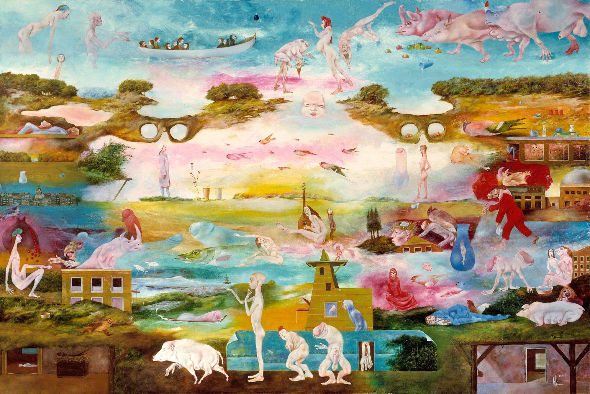 Melle painter - Werken | Schilderijen