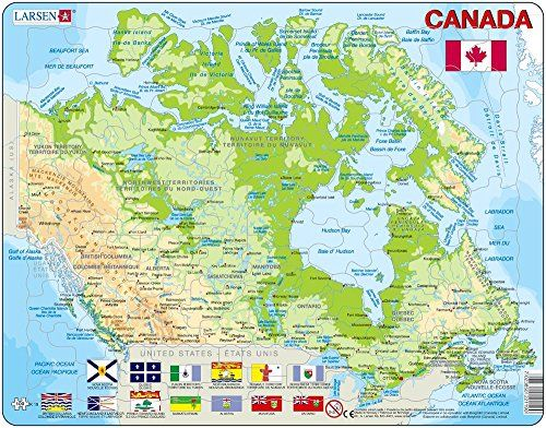 Maps Canada Map Puzzles Blog With Collection Of Maps All Around - Canada map puzzles