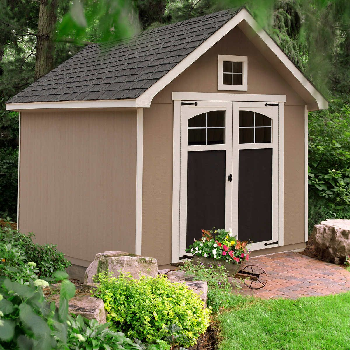 Pin By Dottie Riden On Sheds In 2020 Backyard Sheds Wood Shed Outdoor Sheds