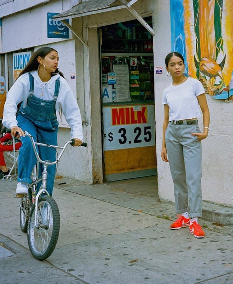 Nike Cortez Campaign 17. Modelled B | Nike street style