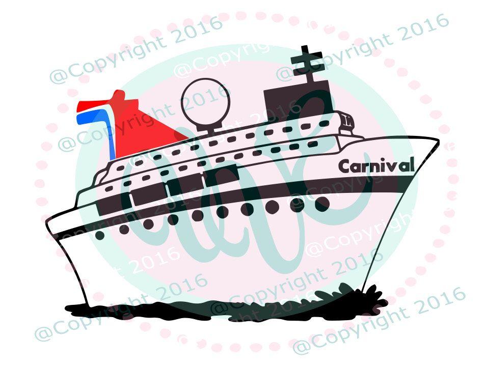 11+ Carnival cruise ship clipart ideas
