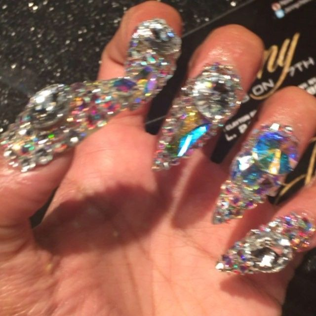 Cardi B Nails: Bitches Be Like That's Too Much I Prefer Plain ...well
