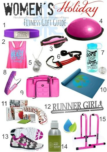 bfcff0cea05f3a What would I like     ALL OF IT!! Womens Fitness Gift Guide ...
