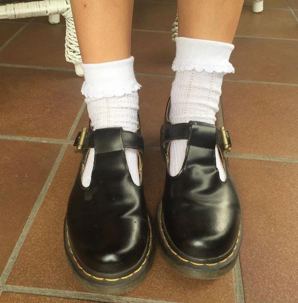 Docs and Socks: the Polley shoe. Shared zimnaherbata. | Goth
