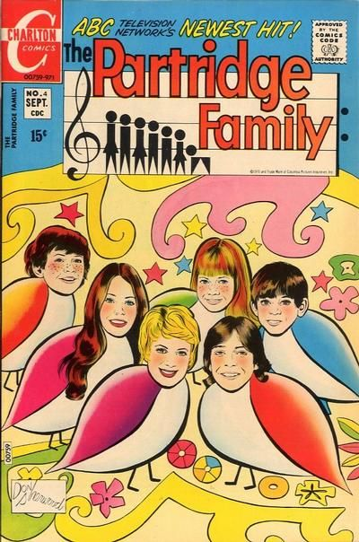 The Partridge Family comic book.