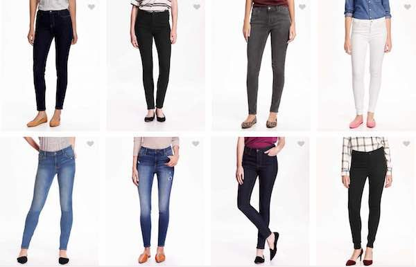 Get 50% Off Jeans + 30% Off Sitewide At Old Navy!
