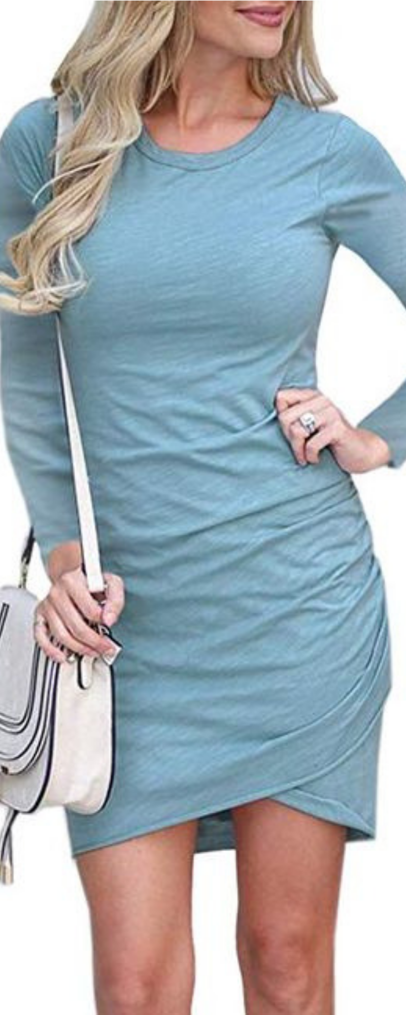Women S Long Sleeve Tulip Bodycon Dress Ruched Short Mini Dresses Short Sleeve Mini Dress Short Mini Dress Bodycon Dress Casual [ 2000 x 800 Pixel ]