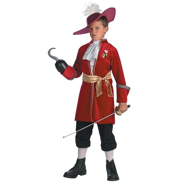 Disney Captain Hook Kids Costume #halloween   wwwsquidoo - halloween costume ideas boys