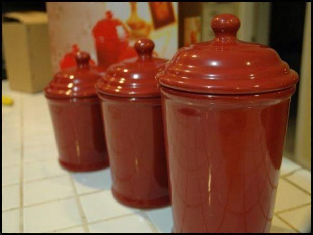Kitchen:Orange Kitchen Canisters Ceramic Orange Kitchen Canisters Ceramic 13