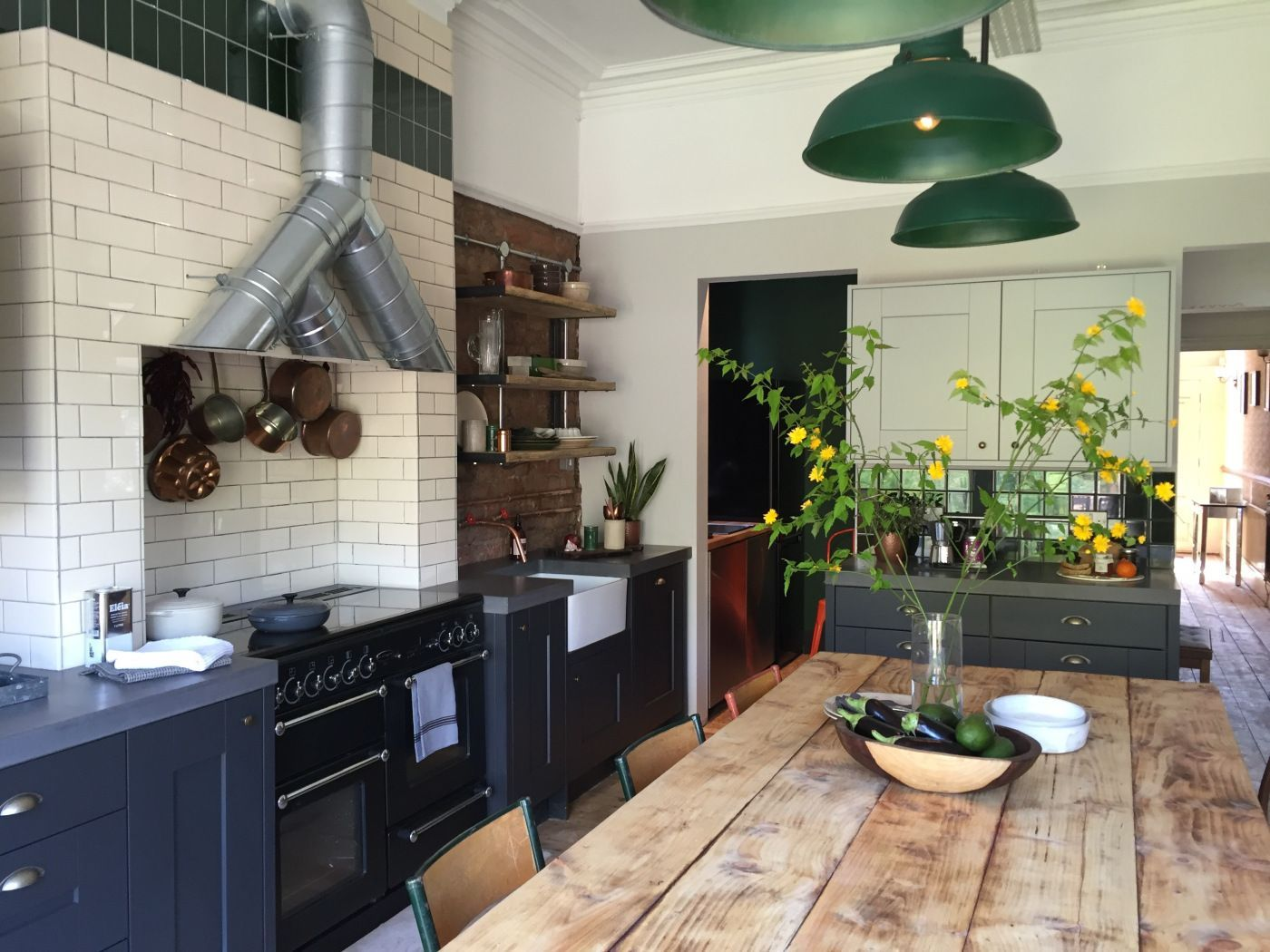 image result for amazing kitchen in old house  home