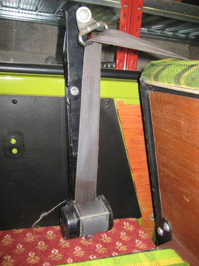Rear Seat Belt Bar Campervan Interior Hippie Camper Vw